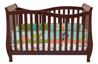 AFG Baby Furniture - Lorie 4-in-1 Convertible Crib - 209