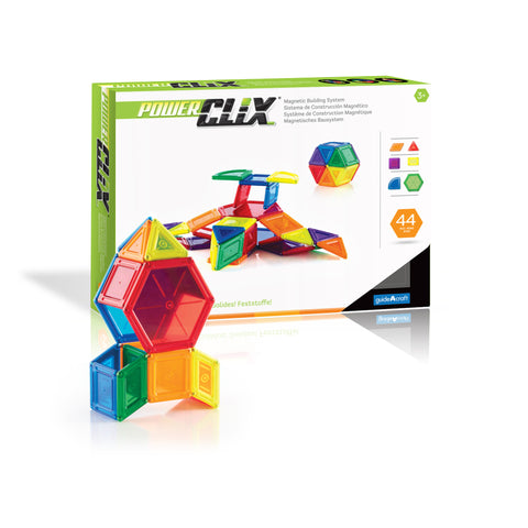Guidecraft PowerClix® Solids  44 Piece Set - G9421 - Default Title Guidecraft Toys - Nurzery.com