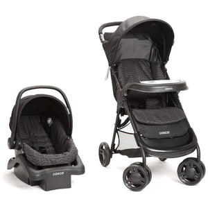 Cosco Lift and Stroll Plus Travel System - Black Arrow - TR372DFL -  Cosco Strollers - Nurzery.com