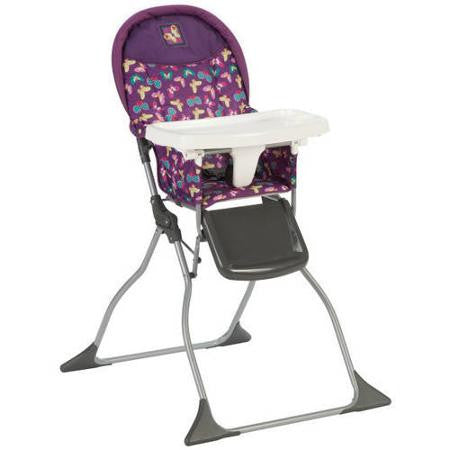 Cosco Simple Fold High Chair - Butterfly Twirl - HC216DWF -  Cosco High Chairs & Boosters - Nurzery.com - 1