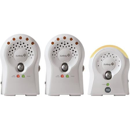 Safety 1st Sure Glow Audio Monitor 2 RX  - MO0680093 -  Safety 1st Baby Monitor - Nurzery.com