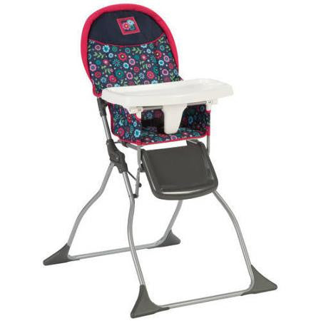 Cosco Simple Fold High Chair - Flower Garden - HC216DWD -  Cosco High Chairs & Boosters - Nurzery.com - 1