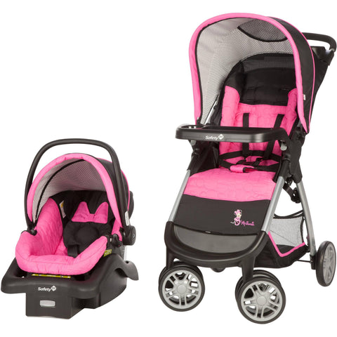 Disney Amble Travel System - Minnie Pop - TR342CZQ -  Disney Car Seats - Nurzery.com - 1