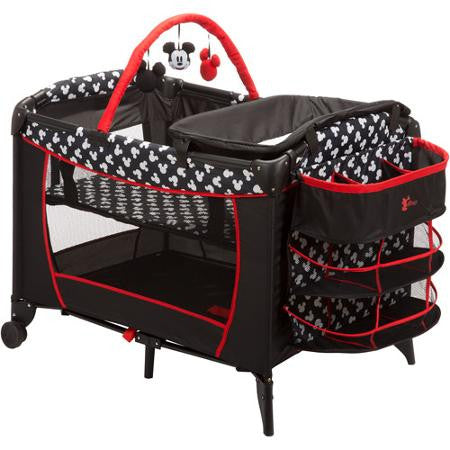 Disney Baby Mickey Mouse Play Yard Mickey Silhouette - PY378CLV -  Disney Play Yard - Nurzery.com