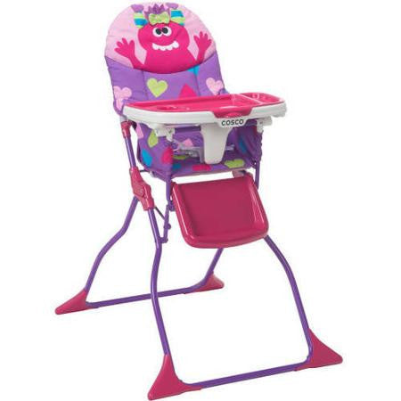 Cosco Simple Fold Deluxe High Chair - Shelley - HC237DHB -  Cosco High Chairs & Boosters - Nurzery.com - 1