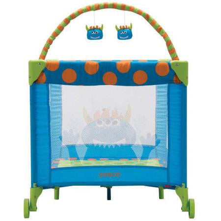 Cosco Funsport Deluxe Play Yard - Monster Syd - PY384DHC -  Cosco Play Yard - Nurzery.com - 1