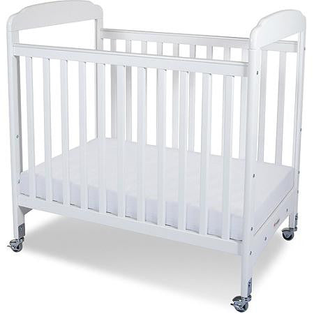 Foundations Serenity Compact Clearview Fixed-Side Crib White - 1732120 -  Foundations All Cribs - Nurzery.com