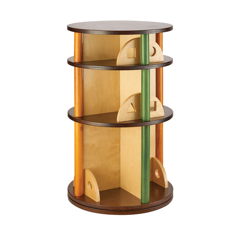 Guidecraft See and Store Media Carousel - G98307 - Default Title Guidecraft Toys - Nurzery.com