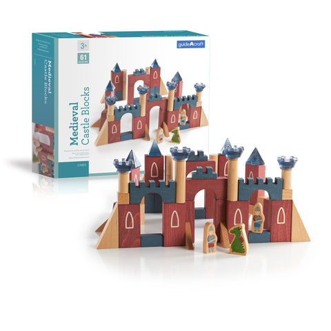 Guidecraft Medieval Castle Blocks - G9802 - Default Title Guidecraft Toys - Nurzery.com