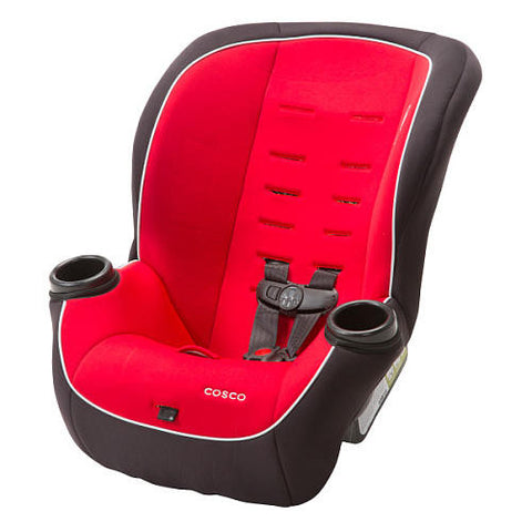 Cosco APT 50 Convertible Car Seat - Vibrant Red - CC147DFX -  Cosco Car Seats - Nurzery.com - 1