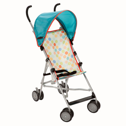 Cosco Umbrella Stroller with Canopy - Dots - US119AOY1 -  Cosco Umbrella Stroller - Nurzery.com