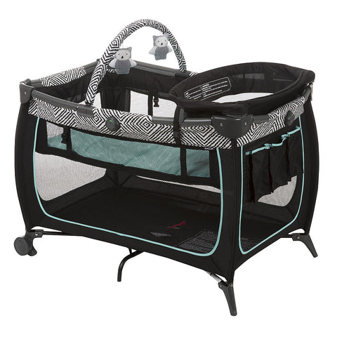 Satefy 1st Safe Stages Play Yard - Black Ice PY370CYG