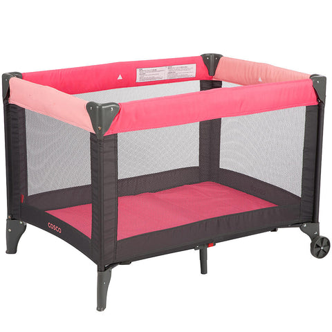 Cosco Funsport Play Yard - Colorblock Coral - PY363DYI -  Cosco Play Yard - Nurzery.com - 1