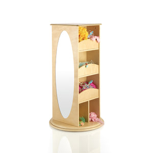 Guidecraft Rotating Dress Up Storage Natural - G99302 - Default Title Guidecraft Toys - Nurzery.com