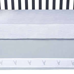 Trend Lab® - Stag Head - 3 Piece Crib Bedding Set