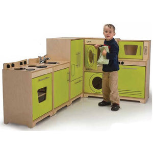 Whitney Brothers Contemporary Kitchen Ensemble WB6400 -  Whitney Bros Play Housekeeping - Nurzery.com