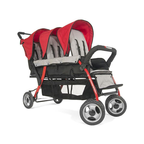 Foundations Trio Sport 3-Child Stroller -  Foundations Strollers - Nurzery.com - 1