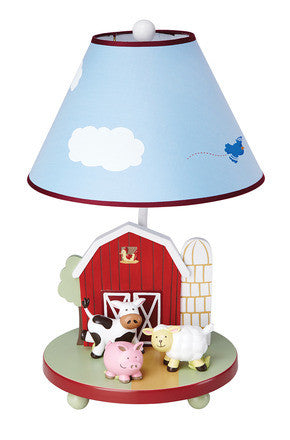 Guidecraft Farm Friends Table Lamp - G86707 - Default Title Guidecraft Toys - Nurzery.com