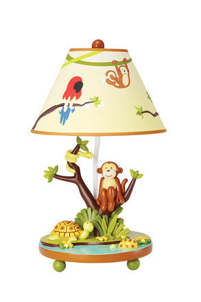 Guidecraft Jungle Party Tabletop Lamp - G86907 - Default Title Guidecraft Toys - Nurzery.com
