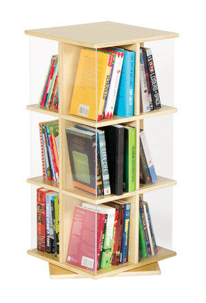 Guidecraft Rotating Book Display 3 Tier - G6318 - Default Title Guidecraft Toys - Nurzery.com
