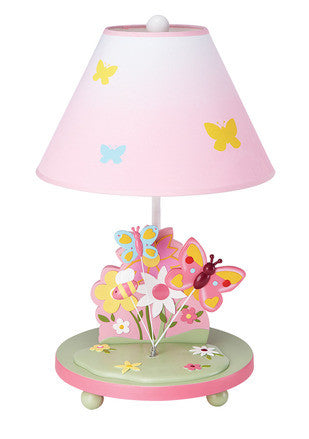 Guidecraft Butterfly Buddies Table Lamp - G86607 - Default Title Guidecraft Toys - Nurzery.com