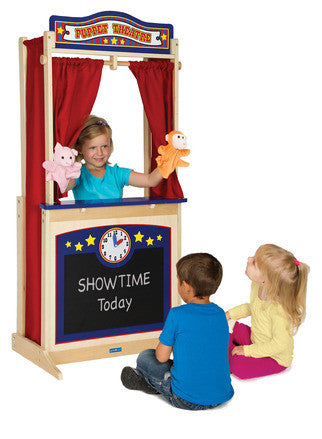 Guidecraft Wooden Floor Theater - G51072 - Default Title Guidecraft Toys - Nurzery.com