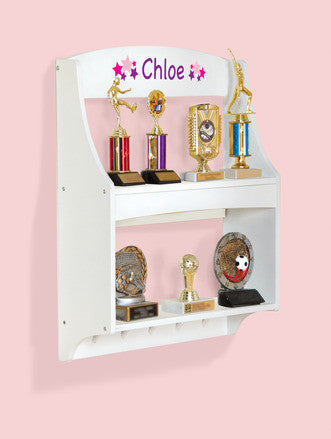 Guidecraft Expressions Trophy Rack: White - G87105 - Default Title Guidecraft Toys - Nurzery.com