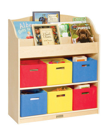 Guidecraft Book and Bin Storage - G6455