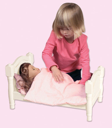 Guidecraft Doll Bed - White - G98126 - Default Title Guidecraft Toys - Nurzery.com