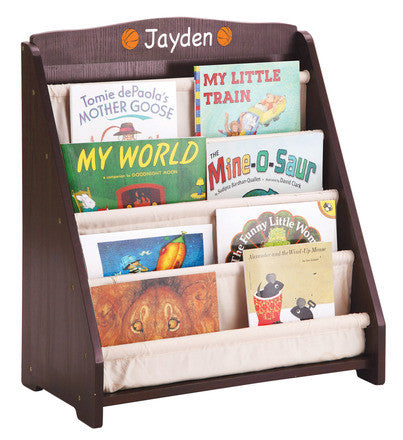 Guidecraft Expressions Book Display: Espresso - G87302 - Default Title Guidecraft Toys - Nurzery.com