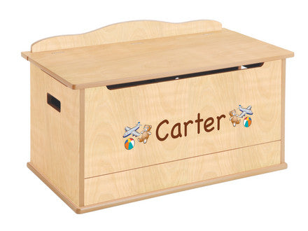 Guidecraft Expressions Toy Box: Natural - G87203 - Default Title Guidecraft Toys - Nurzery.com