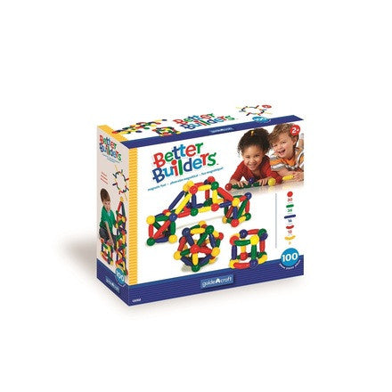 Guidecraft Better Builders 100 Piece Set - G8302 - Default Title Guidecraft Toys - Nurzery.com
