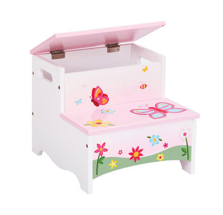 Guidecraft Butterfly Buddies Storage Step-Up - G86606 - Default Title Guidecraft Toys - Nurzery.com