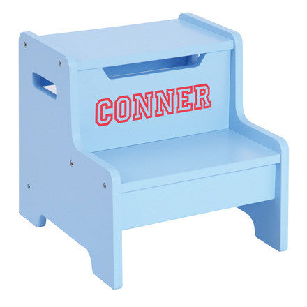 Guidecraft Expressions Step Stool: Light Blue - G87606 - Default Title Guidecraft Toys - Nurzery.com