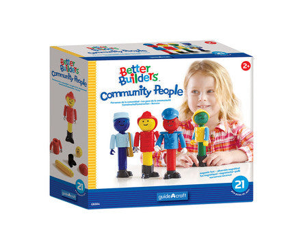Guidecraft Better Builders® Community People - G8304 - Default Title Guidecraft Toys - Nurzery.com