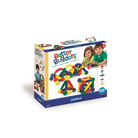 Guidecraft Better Builders 60 Piece Set - G8301 - Default Title Guidecraft Toys - Nurzery.com