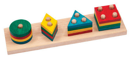 Guidecraft One to Four Sorter - G6704 - Default Title Guidecraft Toys - Nurzery.com