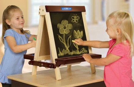 Guidecraft Wooden Tabletop Easel - G51031 - Default Title Guidecraft Toys - Nurzery.com