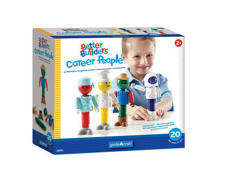 Guidecraft Better Builders® Career People - G8305 - Default Title Guidecraft Toys - Nurzery.com