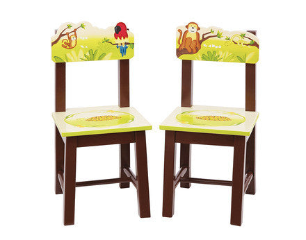 Guidecraft Jungle Party Extra Chairs (Set of 2) - G86903 - Default Title Guidecraft Toys - Nurzery.com