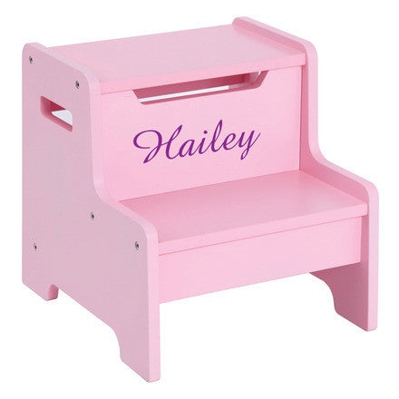 Guidecraft Expressions Step Stool: Pink - G87506 - Default Title Guidecraft Toys - Nurzery.com