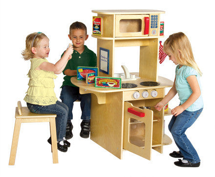 Guidecraft Café Play Kitchen - G97278 - Default Title Guidecraft Toys - Nurzery.com