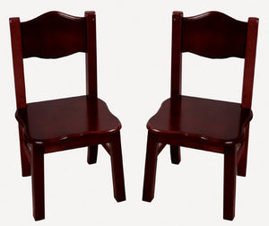 Guidecraft Classic Espresso Extra Chairs - G86203 - Default Title Guidecraft Toys - Nurzery.com