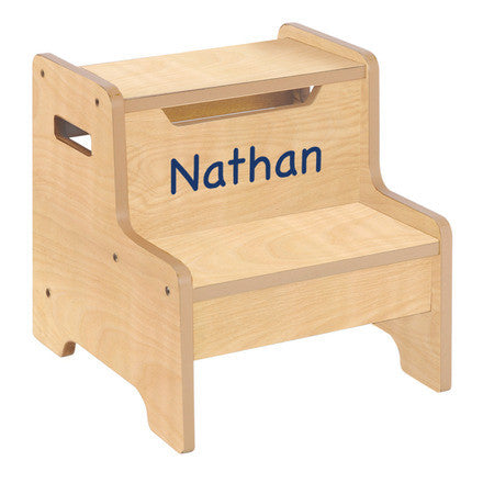Guidecraft Expressions Step Stool: Natural - G87206 - Default Title Guidecraft Toys - Nurzery.com