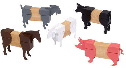 Guidecraft Block Mates Farm Animals - G7601 - Default Title Guidecraft Toys - Nurzery.com