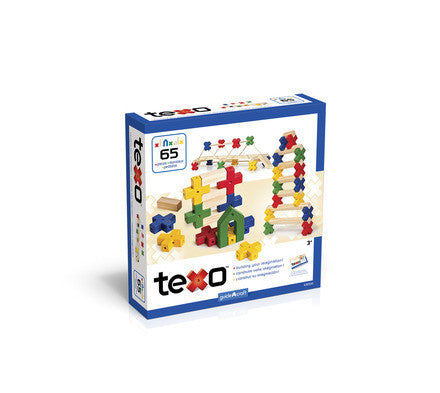Guidecraft Texo™ 65 Piece Set - G9500 - Default Title Guidecraft Toys - Nurzery.com