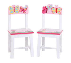 Guidecraft Butterfly Buddies Extra Chairs (Set of 2) - G86603 - Default Title Guidecraft Toys - Nurzery.com