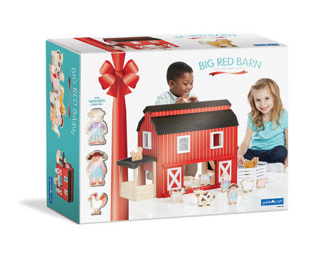 Guidecraft Big Red Barn - G99100 - Default Title Guidecraft Toys - Nurzery.com