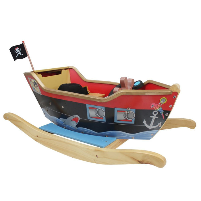 Teamson Kids - Hook Captain Rocker - Red/Black