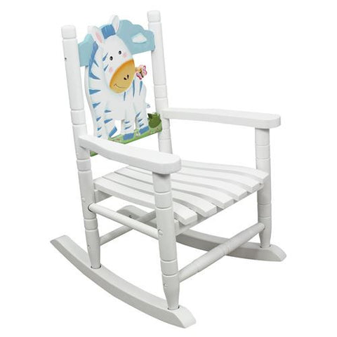 Teamson Kids- Safari Rocking Chair-Zebra-W-8340A -  Teamson Kids Rocking Chair - Nurzery.com - 1